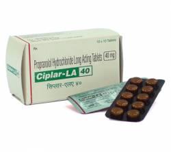 Ciplar LA 40 mg (15 pills)