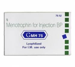 Menotropin GMH 75iu (1 vial)