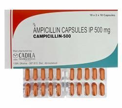 Campicillin 500 mg (10 pills)