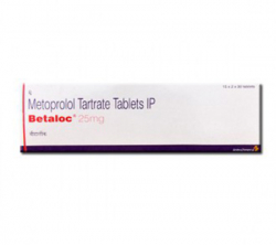 Betaloc 25 mg (30 pills)