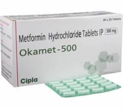 Okamet 500 mg (20 pills)