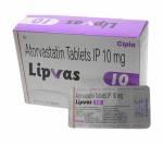 Lipvas 10 mg (10 pills)