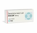 Zocor 20 mg (10 pills)