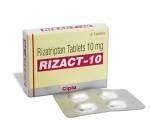 Rizact 10 mg (4 pills)