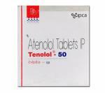 Tenolol 50 mg (14 pills)