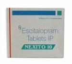 Nexito 10 mg (10 pills)
