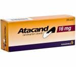 Atacand 16 mg (28 pills)
