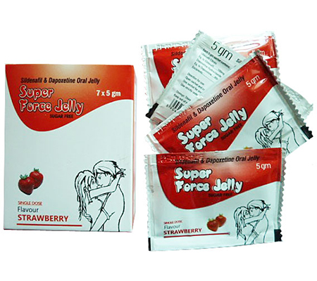 Super Force Jelly 160 mg